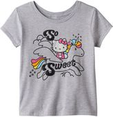 "Hello Kitty Girls 7-16 So Sweet"" Unicorn Tee"