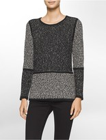 Calvin Klein Colorblock Panel Sweater