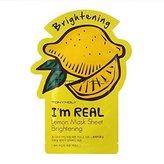 Tony Moly Tonymoly I'm Real Skin Care Facial Mask Sheet Package (Lemon - Brightening 10 Sheets)