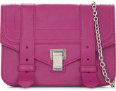 Proenza Schouler PS1 leather wallet on chain