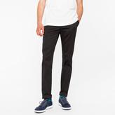 Paul Smith Men's Slim-Fit Black Cotton-Twill Stretch Chinos