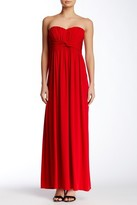Jessica Simpson JS3V5116 Front Twist Maxi Dress