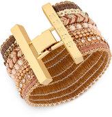 GUESS Gold-Tone Multi-Style Flex Bracelet