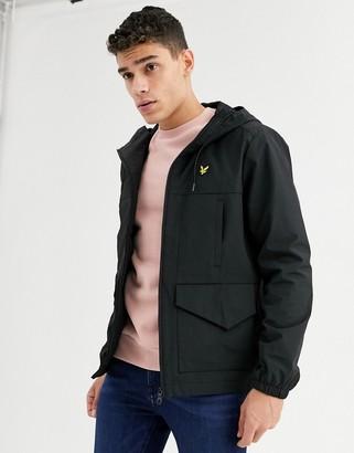 Lyle & Scott shell jacket-Black
