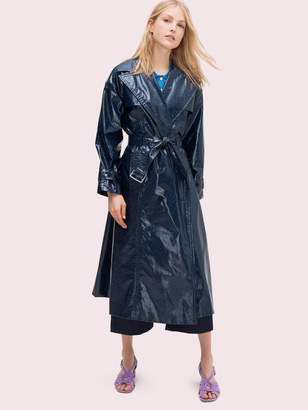 Kate Spade spade flower trench