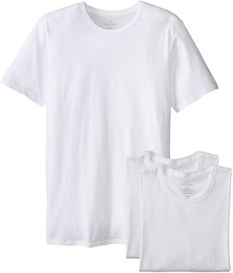 Calvin Klein Men's 3-Pack Cotton Classics Slim Fit Crew Neck T-Shirt