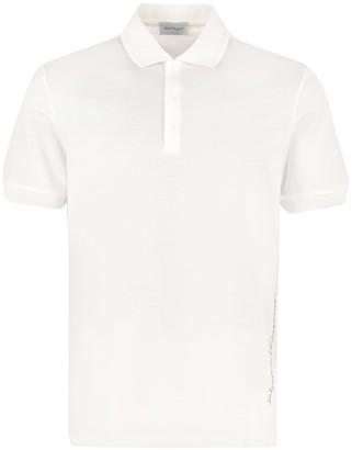 Salvatore Ferragamo Cotton Pique Polo Shirt