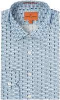 Simon Carter Aeroplane Print Shirt