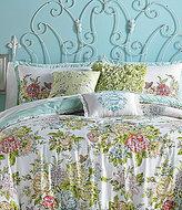 Jessica Simpson Elodie Overscale Floral Comforter Mini Set