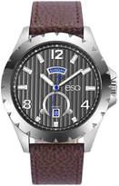ESQ Mens Brown Strap Watch-37esq007001a