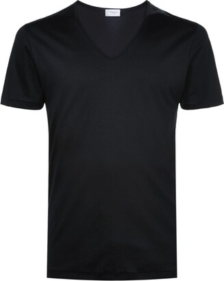Zimmerli 286 Sea Island V-Neck T-Shirt