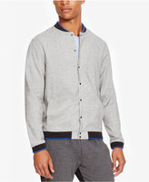 Kenneth Cole Reaction Men's Ribbed Trim Shirt-Jacket