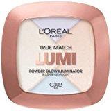 L'Oreal True Match Lumi Powder Glow Illuminator, Ice, (Pack of 6)