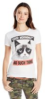 Fifth Sun Junior's Grumpy Cat No Such Thing Graphic Tee