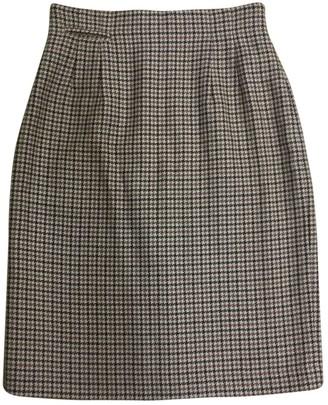 Margaret Howell Brown Wool Skirt for Women