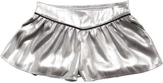 Zadig & Voltaire Coated Metallic Shorts