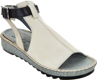 Naot Footwear Leather Mule Sandals - Verbena