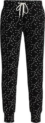 Monrow Allover Star Sporty Sweatpants
