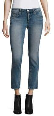 Amo Kate Cropped Straight-Leg Jeans