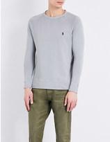Polo Ralph Lauren Crew neck cotton-jersey sweatshirt