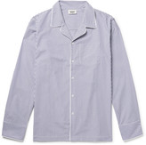 Sleepy Jones - Henry Striped Cotton Pyjama Shirt