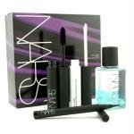 NARS Trouble Maker Eye Set (1x Volumizing Mascara 1x Eyeshadow Base 1x Eyeliner Stylo 1x Eye Makeup Remover) - 4pcs
