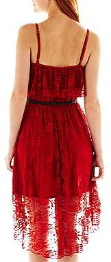 JCPenney Love Reigns High-Low Lace Dress