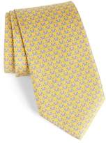 Salvatore Ferragamo Men's Dino Bear Print Silk Tie
