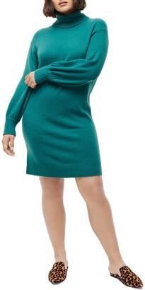 J.Crew Supersoft Turtleneck Sweater Dress