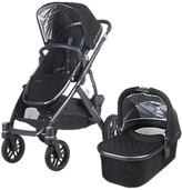 UPPAbaby Vista 2015 Pushchair and Carrycot, Jake Black