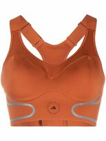 Thumbnail for your product : adidas by Stella McCartney Logo-Print Performance Top