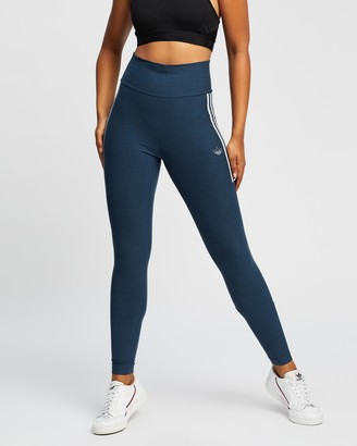 adidas Women's Blue Tights - Tights 11 - Size 6 at The Iconic