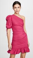 Jonathan Simkhai One Shoulder Denim Dress