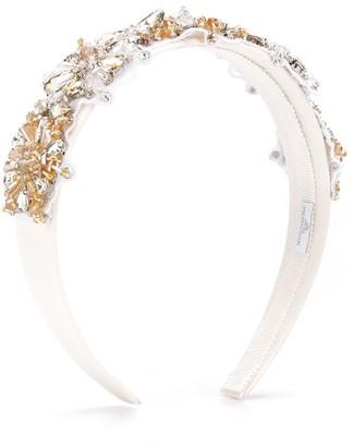 MonnaLisa Floral Embellished Headband