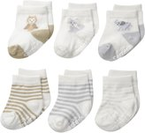 Carter's Unisex-Baby Newborn Soft Animal Socks