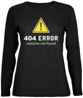 Old Glory Halloween 404 Costume Not Found Womens Long Sleeve T-Shirt