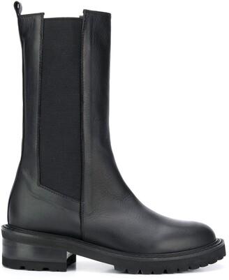 Via Roma 15 Calf-Length Boots