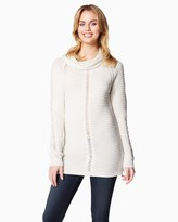 Charming charlie Cozy Cowl Neck Tunic