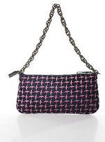 J.Crew J Crew Blue Pink Printed Small Chain Strap Shoulder Handbag