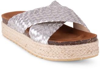Wanted Slip On Cross Straps Sandals - Hampton