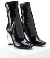 Forever 21 Lucite Heel Ankle Boots