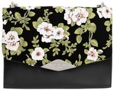 Rochas Palais Royal Floral Velvet & Leather Bag