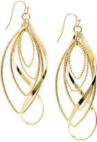 INC International Concepts Gold-Tone Twist Earrings