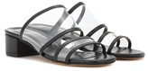 Maryam Nassir Zadeh Martina Leather Slip-on Sandals