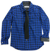 Sovereign Code Boys 2-7 Full Sleeve Shirt and Tie Set