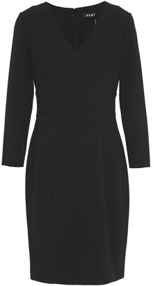 DKNY Stretch-crepe Dress