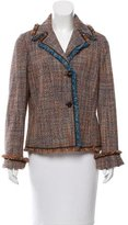 M Missoni Tweed Notch-Lapel Jacket