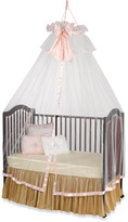Bed Bath & Beyond Heirloom White & Pink Dome with Silk Bow