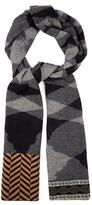 Missoni Geometric-motif wool scarf
