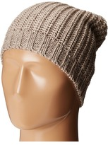 San Diego Hat Company KNH3429 Solid Knit Rib Beanie with Ribbed Opening